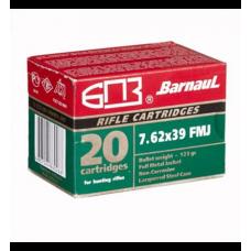 Barnaul 7.62x39 123gr FMJ Ammunition