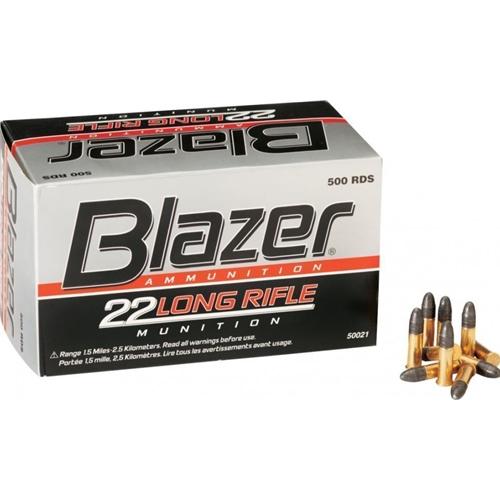 CCI Blazer 22LR 40gr LRN *500RDS*