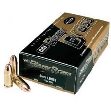 CCI Blazer Brass 9mm Luger 115gr FMJ *500Rounds*