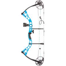 Diamond Prism Right Hand 5#-55# Electric Blue *Package* Compound Bow