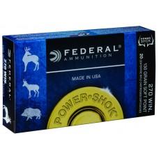 Federal Powershok 270Win 130gr Soft Point Ammunition