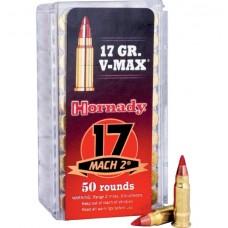 Hornady 17 Mach 2 17gr V-MAX Varmint Express Rimfire