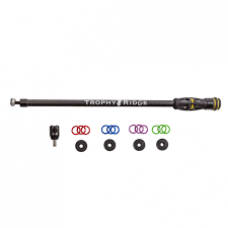 """Trophy Ridge Hitman 18"""" Stabilizer w/6 Removable Weights & Colored Rings"""