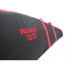 Ruger 10/22 Scoped Rifle Case w/Red Accents