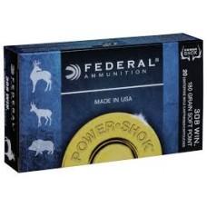 Federal PowerShok 308Win 180gr Soft Point Ammunition