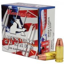 Hornady American Gunner 9mm Luger 115gr XTP Ammunition