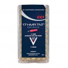 CCI .17HMR TNT 17gr Ammunition