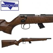 "Anschutz 1416 G-20 Classic 22LR 18"" HB - Walnut Beavertail Stock"