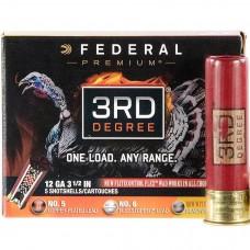 "Federal Premium 3rd Degree 12ga 3"" 1-3/4oz 5,6,7 Shot"