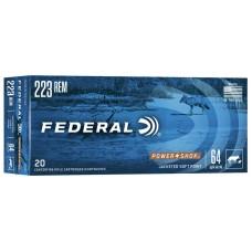 Federal Power Shok 223Rem SP 64gr Ammunition