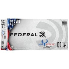 Federal Non-Typical 243Win 100gr Ammunition