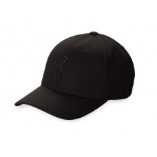 Browning Coronado Pique Cap with Buckmark - Black