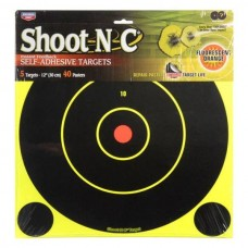 Birchwood Casey Shoot-N-C Bullesye Target - 5 Pack