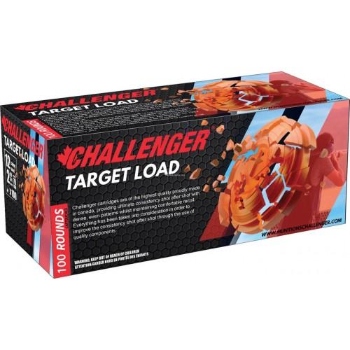 "Challenger 12ga 2 3/4"" Target Load #8 *100Rd Brick*"