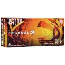 Federal Fusion 45-70 Gov't Ammunition