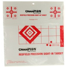 Redfield Precision Sight In Targets - 10Pack