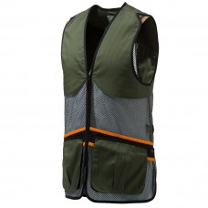 Beretta Full Mesh Shooting Vest Dark Olive - Large
