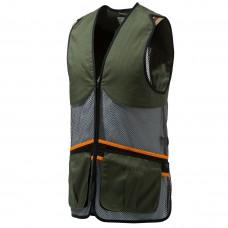 Beretta Full Mesh Shooting Vest Dark Olive - Medium