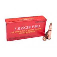 Norinco 7.62x39 122gr FMJ Ammunition