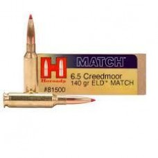 Hornady Match 6.5CM 140gr ELD Match Ammunition