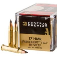 Federal P771 V-Shok 17HMR 17gr Rifle Ammunition
