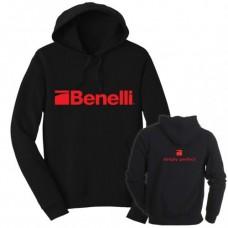 Benelli Branded Hoodie Black - 2XL