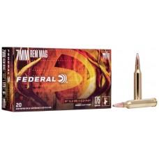 Federal Fusion 7mm Rem Mag 175gr Ammunition