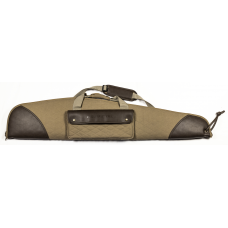 """HQ Outfitters Classic Canvas 48"""" Scoped Rifle Case w/Shoulder Strap"""